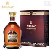 アララット 15年 ヴァスプラカン 並行 40% 700ml アルメニアブランデー