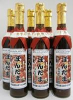 【送料無料】せいちゃんの手作りぽん酢 ぽんたま 500ml瓶×6本
