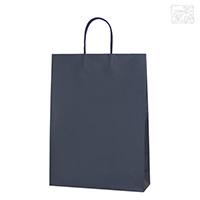 手提げ紙袋 大 (紫紺) マットスムースバッグ ギフト