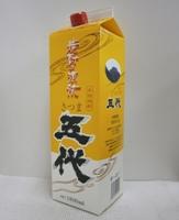 芋焼酎 さつま五代 25% 1800mlパック*1ケース(6本)