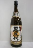 芋焼酎 さつま黒五代 25% 1800ml