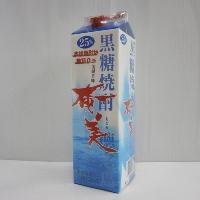 黒糖焼酎 奄美 25% 1800mlパック*1ケース(6本)