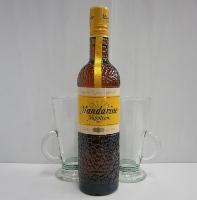 マンダリン ナポレオン 38%500ml グラス2個付き