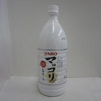 眞露 JINRO (ジンロ) マッコリ 6% 1000ml*1ケース(15本)