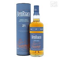 ベンリアック 21年 46度 700ml 並行 シングルモルトスコッチウイスキー