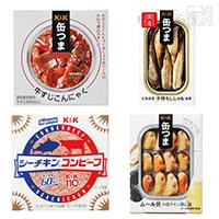 缶つま 絶品グルメ缶詰め 4種 シーチキンコンビーフ 缶詰 おつまみ