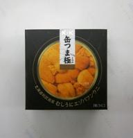 K&K 缶つま 極 北海道利尻島産 むしうにエゾバフンウニ