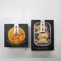 K&K 缶つま 極 2種B(エゾバフンウニ&あわび)