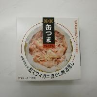 K&K 缶つまプレミアム 紅ズワイガニ ほぐし肉 酒蒸し