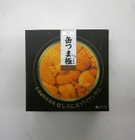 K&K 缶つま 極 北海道利尻島産 むしうにエゾバフンウニ 100g*6個