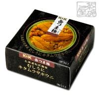 K&K 缶つま 極 北海道利尻島産 むしうにキタムラサキウニ*6個