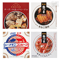 缶つま 缶ちぃず シーチキンコンビーフ 食べ比べ 4種セット A