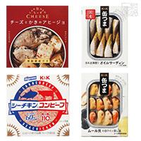 缶つま 缶ちぃず シーチキンコンビーフ 食べ比べ 4種セット B