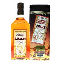 J.バリー ミレジム2002 43度 700ml ラム酒 並行品
