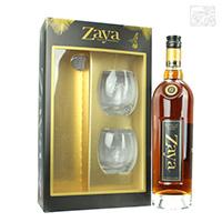 ザヤ グランレゼルバ 12年 40度 750ml グラス2個付き 並行 ラム酒