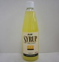 アサヒ シロップ ゆず 600ml瓶