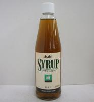 アサヒ シロップ 梅 600ml瓶