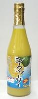 シークワーサー 果汁100% 500ml【賞味期限2020年2月7日】