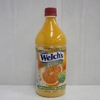 ウエルチ オレンジ100 果汁100% (濃縮還元) 800gペット 1ケース(8本入)