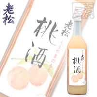 伊丹老松 桃山の桃酒 720ml 8%