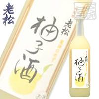 伊丹老松 龍神の柚子酒 720ml 8%