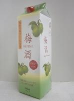 白玉梅酒 ブランデーベース 12% 1800mlパック*1ケース(6本)