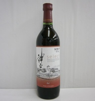 神戸ワイン セレクト 赤 ライトボディ 12% 720ml